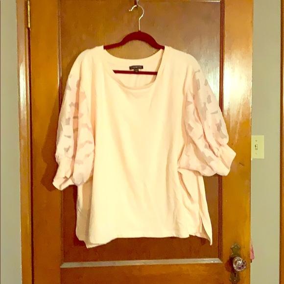 Lane Bryant Tops - Short sleeve sweatshirt